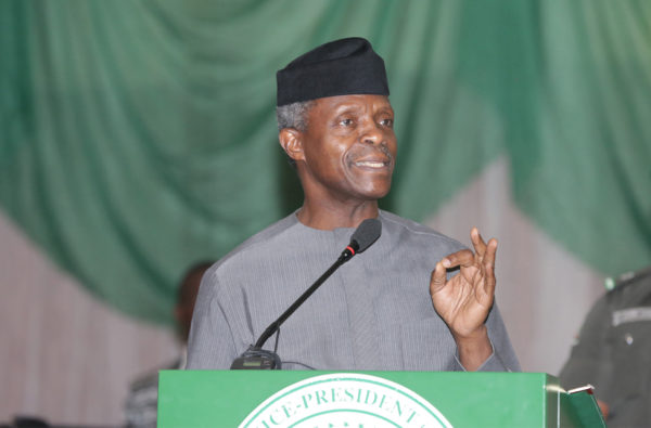 Nigeria Acting President Osinbajo signs 3 pro-business orders, 48 hour visa