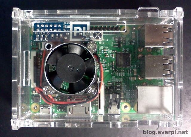 pizula v0.2 no raspberry pi + case