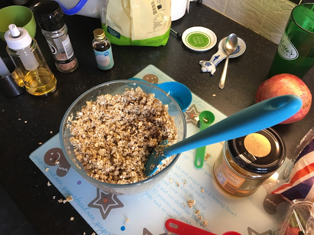 homemade vanilla granola food preparation southern in law
