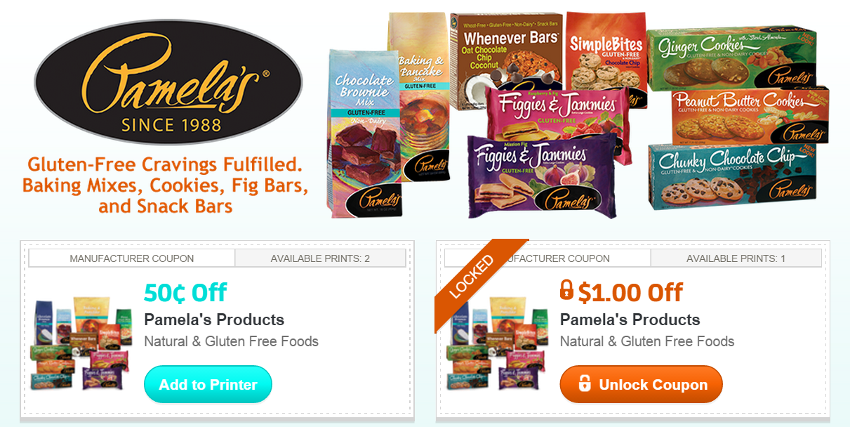 photograph about Gluten Free Coupons Printable known as Pamelas coupon : Mommy will save significant printable discount codes macys