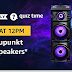 Amazon Quiz Time Daily – Today's Answer of Amazon Blaupunkt party speakers Quiz