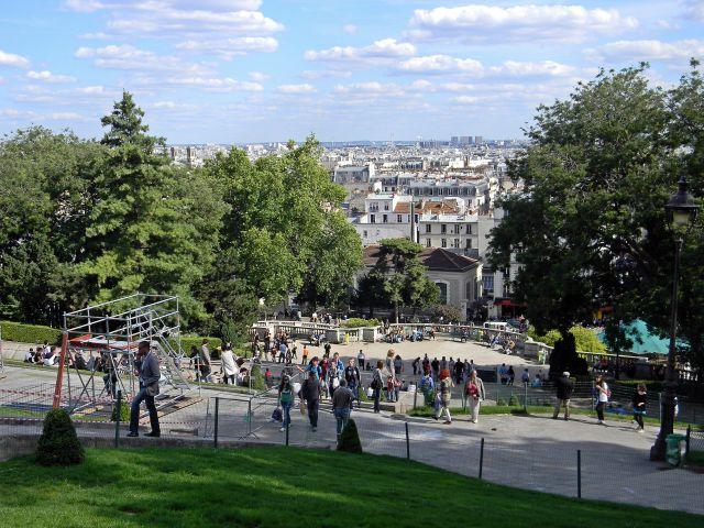 paryskie widoki, zabytki, Francja