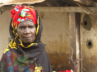 Nogoye Dieng, the coordinator of the Community Management Committee of Medina Gounass II