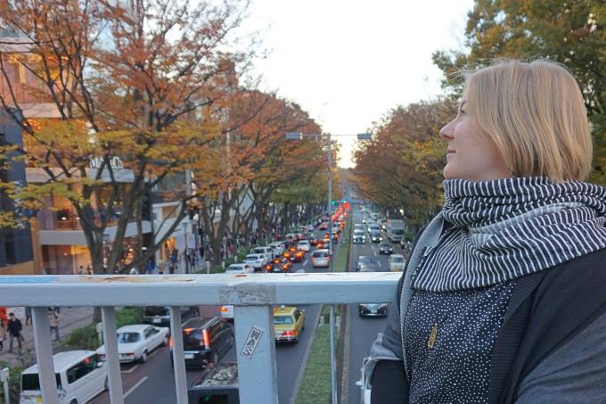 Kokemuksia Tokion nähtävyyksistä ja yksinmatkailusta - vinkkejä matkalle ja aukioloaikoihin / Omotesando