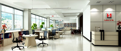Nội thất văn phòng Fami cao cấp, sang trọng và hiện đại