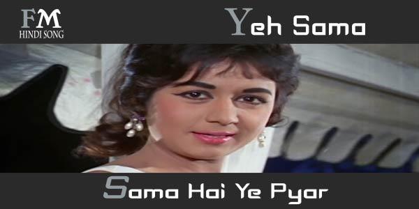 Yeh-Sama-Sama-Hai-Ye-Jab-Jab-Phool-Khile-(1965)