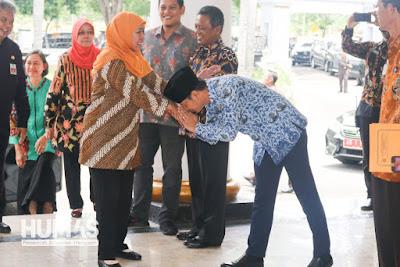 Plt Bupati Trenggalek Hadiri Rapat Sinergi Program dengan Gubernur Jawa Timur