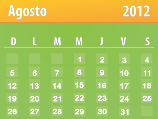 Calendario Del Barca.Foro Azulgrana Blaugrana Calendario Del Barca Agosto 2012