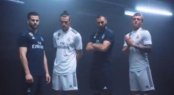 El Real Madrid anuncia las equipaciones Adidas para 2018/2019