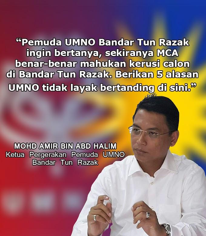UMNO Buat Kerja, MCA Jadi Calon Semata² Di Bandar Tun Razak