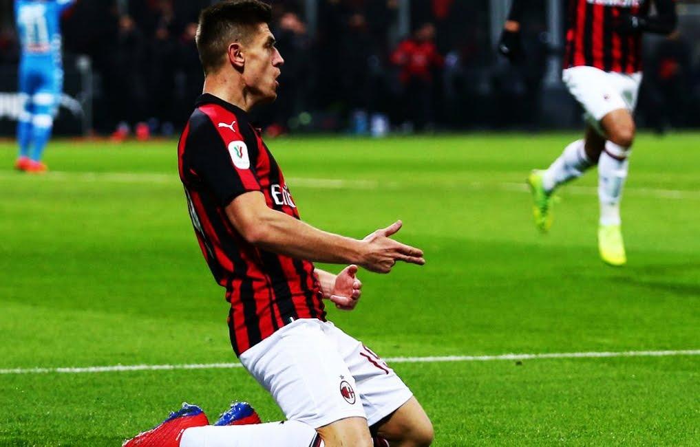 Piatek segna 2 gol spettacolari e spinge il Milan in semifinale di Coppa Italia: 2-0 al Napoli.