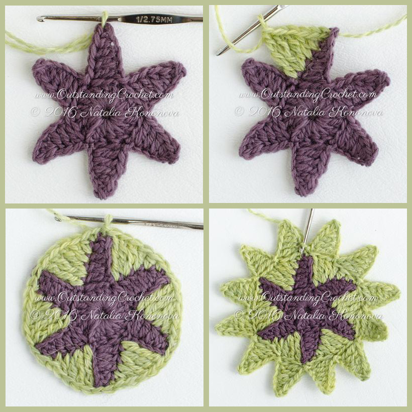 Crochet Pattern Examples : Outstanding Crochet: Example of instructions from Alpine ...