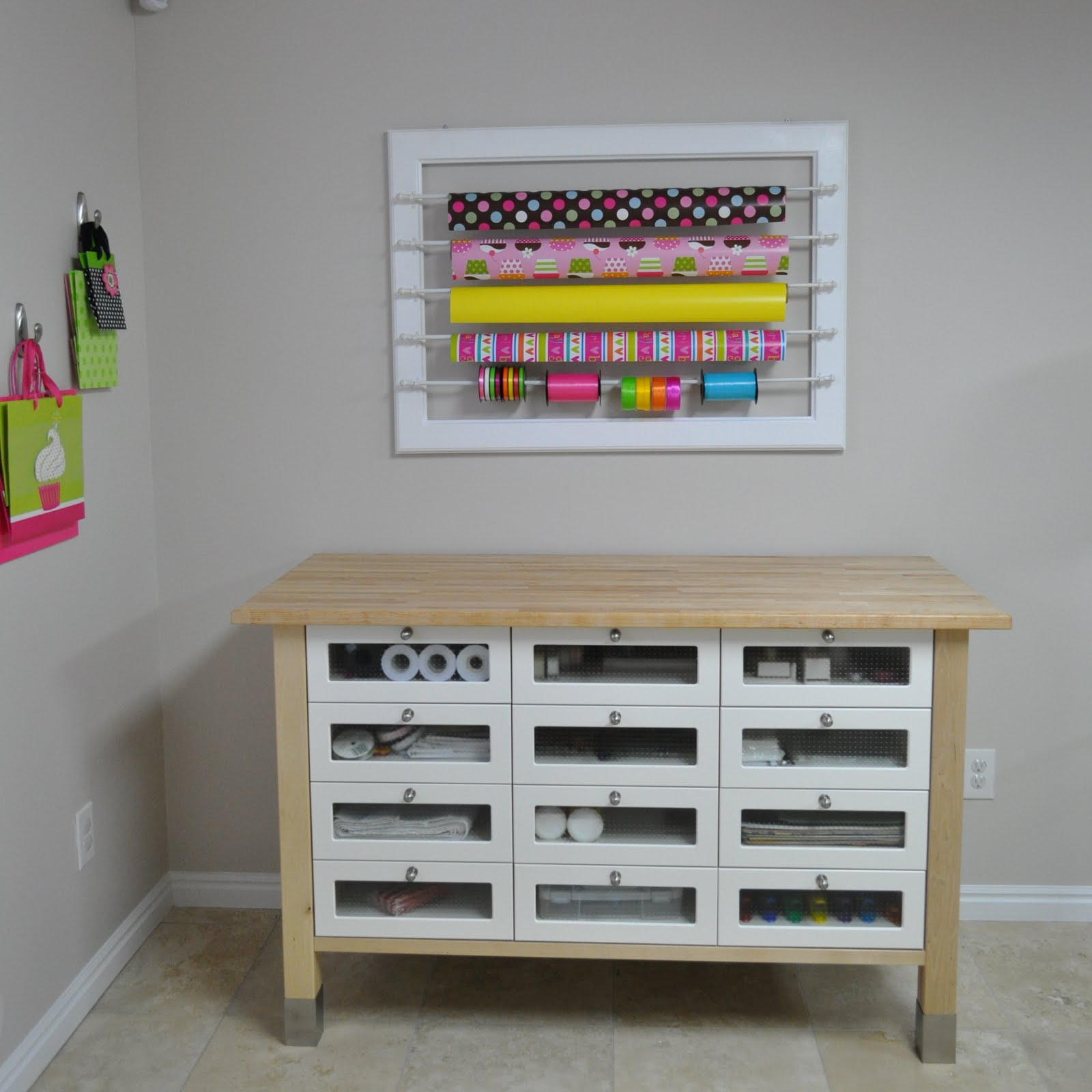 Wrapping Paper Storage ONLY $197 {Was $495}!