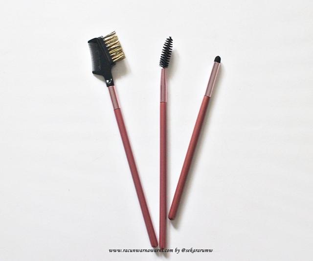 Brow Comb Pink Set Brush