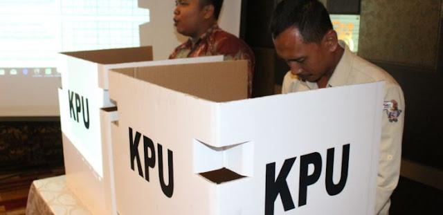 KPU Tak Tinggal Diam, Hoax 7 Kontainer Kotak Suara Tercoblos Dilaporkan ke Bareskrim