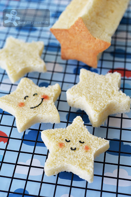cute star bread