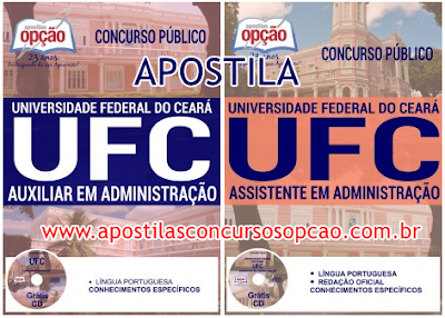 Apostila Universidade Federal do Ceará (UFC) Auxiliar em Administração