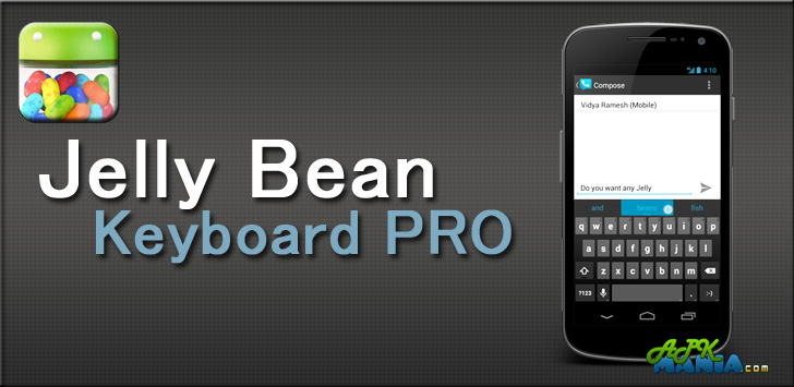 Jelly Bean keyboard PRO v1 9 8 3 - Free Android Apps and Games
