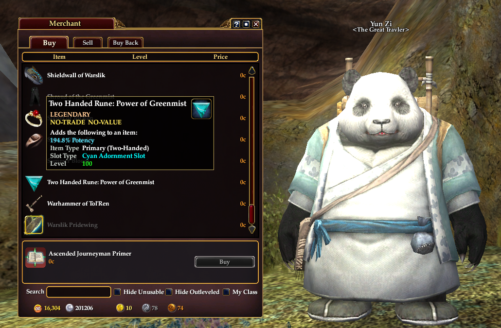 Inventory Full: Here Comes Summer! : EQ2