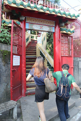 Stairs to Philippine Taoist Temple in Cebu