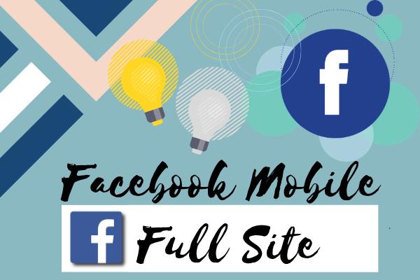 Facebook Mobile Desktop Site Login