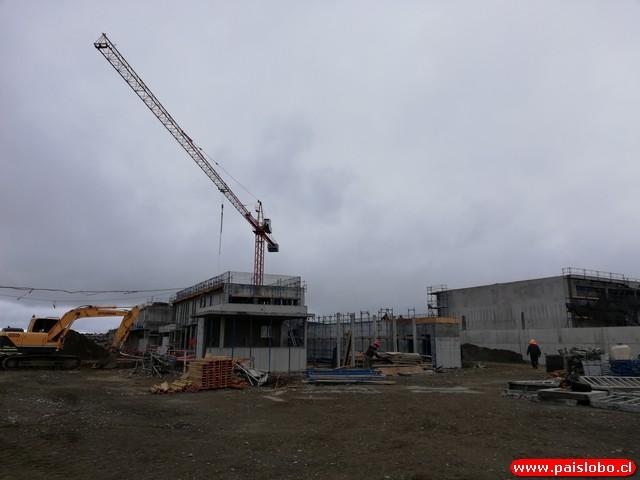 Casos de Covid 19 positivo en construcción de Centro Cerrado del Sename😷