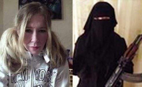 Mujer del Estado Islámico