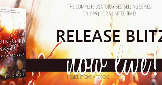 Release Blitz & Giveaway - Unfinished Night: The Complete Duet by Violet Duke