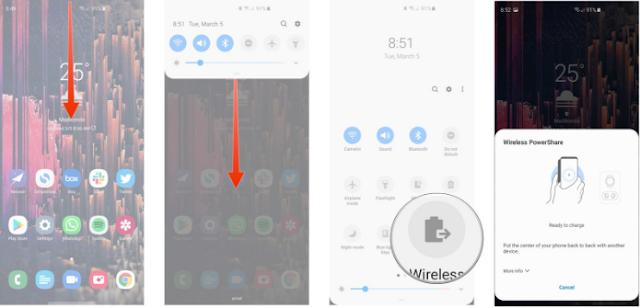 Cara Menggunakan Wireless PowerShare di Galaxy S10 2