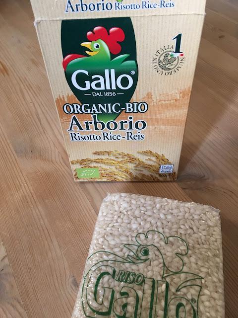 Gallo organic risotto rice from Ocado