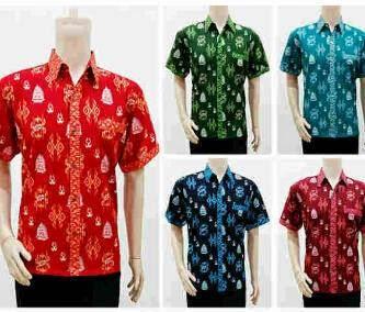 Model Terbaru Baju Batik Kemeja Pria Remaja 2015