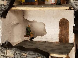 Bunratty-Castle-Diorama-Garderobe