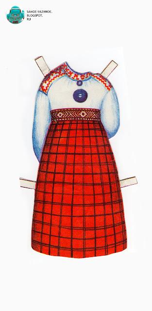 Бумажные куклы 80-х СССР, советские. Национальные костюмы. Бумажные куклы в национальных костюмах Эстония Таллин СССР.