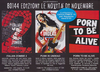 Italian Zombie 2 + Punk is undead #3
