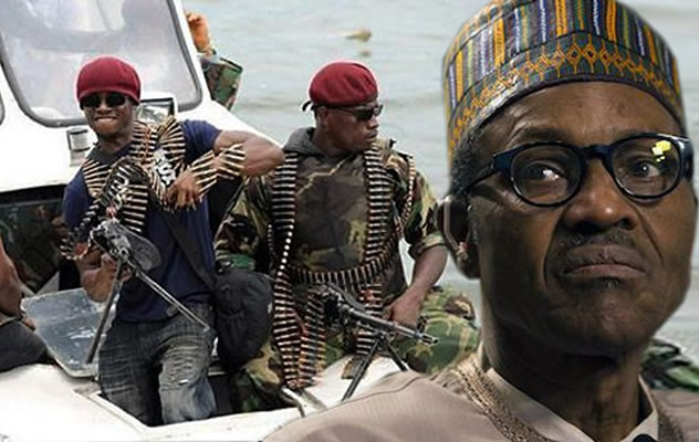 Niger-Delta militants and Buhari