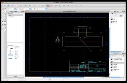 Software LibreCAD