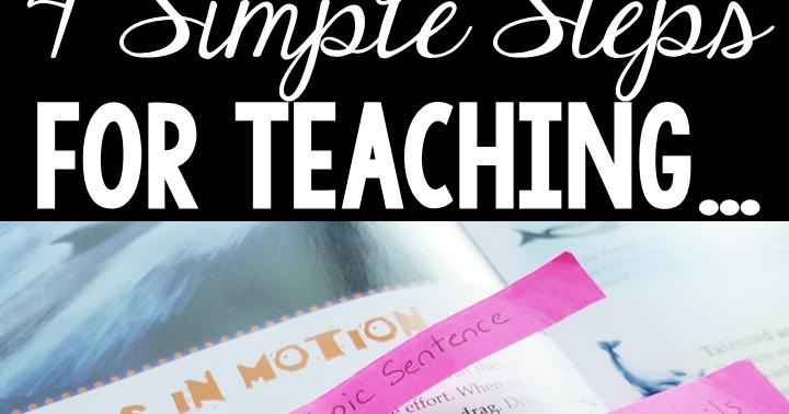teach paragraph writing