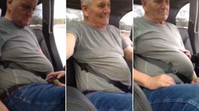 Hydrophobic Man Gets Stuck In Seatbelt His Family Think It S The Funny Thing Ever Happend Trendypost