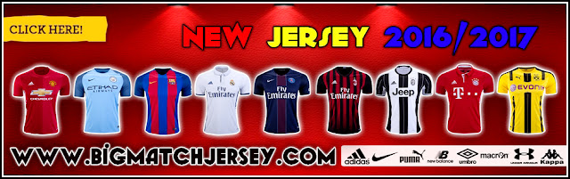 Banner Jual Jersey Grade Ori Official 2016-2017 All Club Terbaru