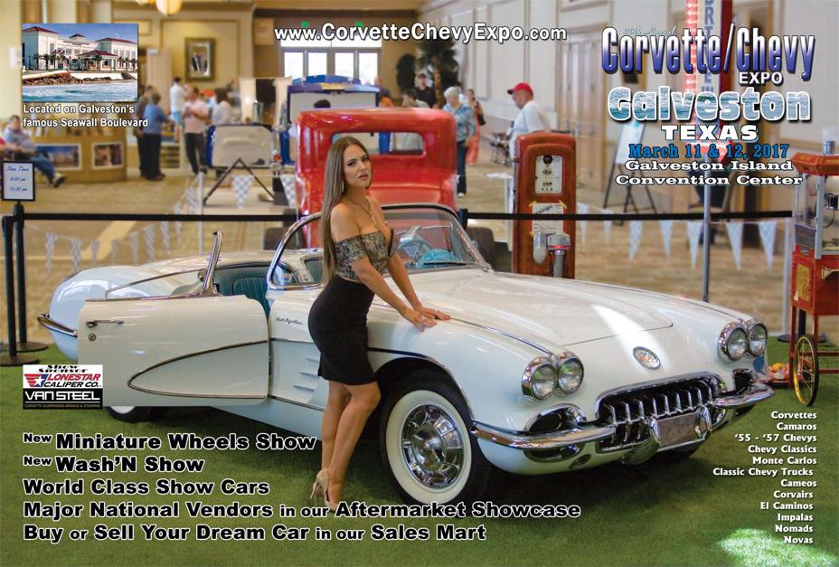 March 11 12 2017 39th Corvette Chevy Expo Galveston Island