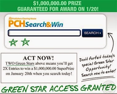 House of Sweepstakes: PCH Win $1 Million SuperPrize Giveaway
