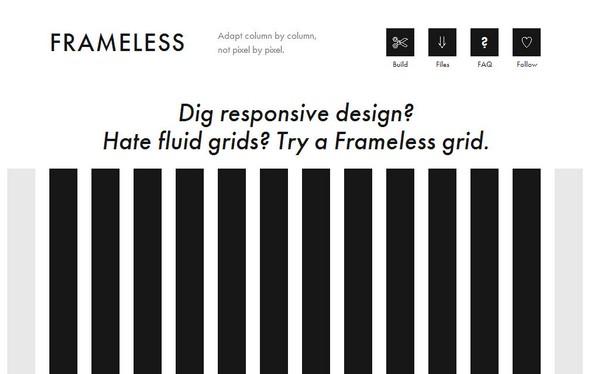 Frameless Responsive Framework