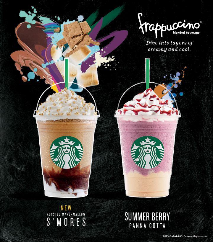 Celebrate summer with Starbucks