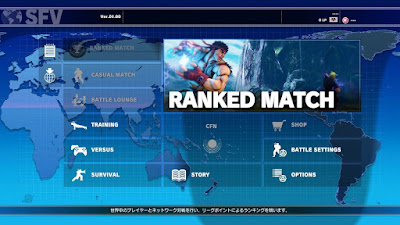 Street Fighter 5 : v01.00