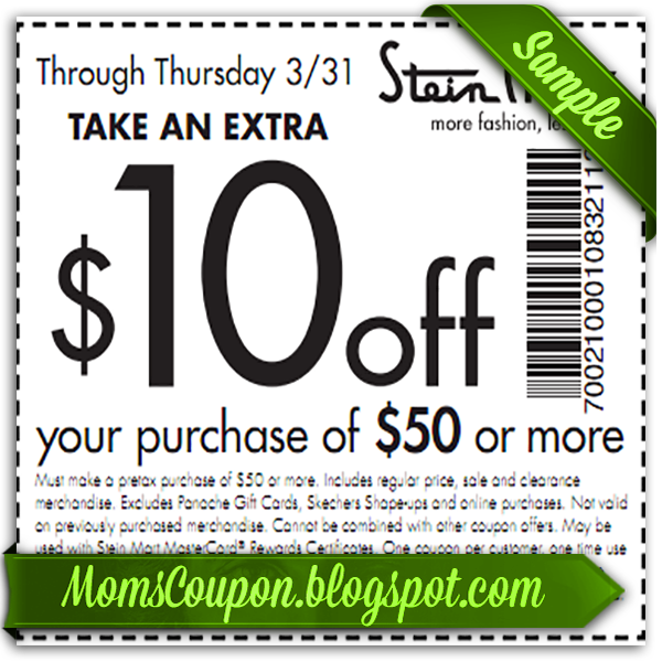 There are 20 Stein Mart coupons for you to consider including 5 coupon codes, and 15 sales. Most popular now: Up to 60% Off Department Store Prices%().