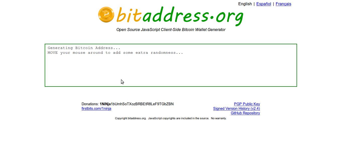 Bitcoin address generator c - Basic attention token