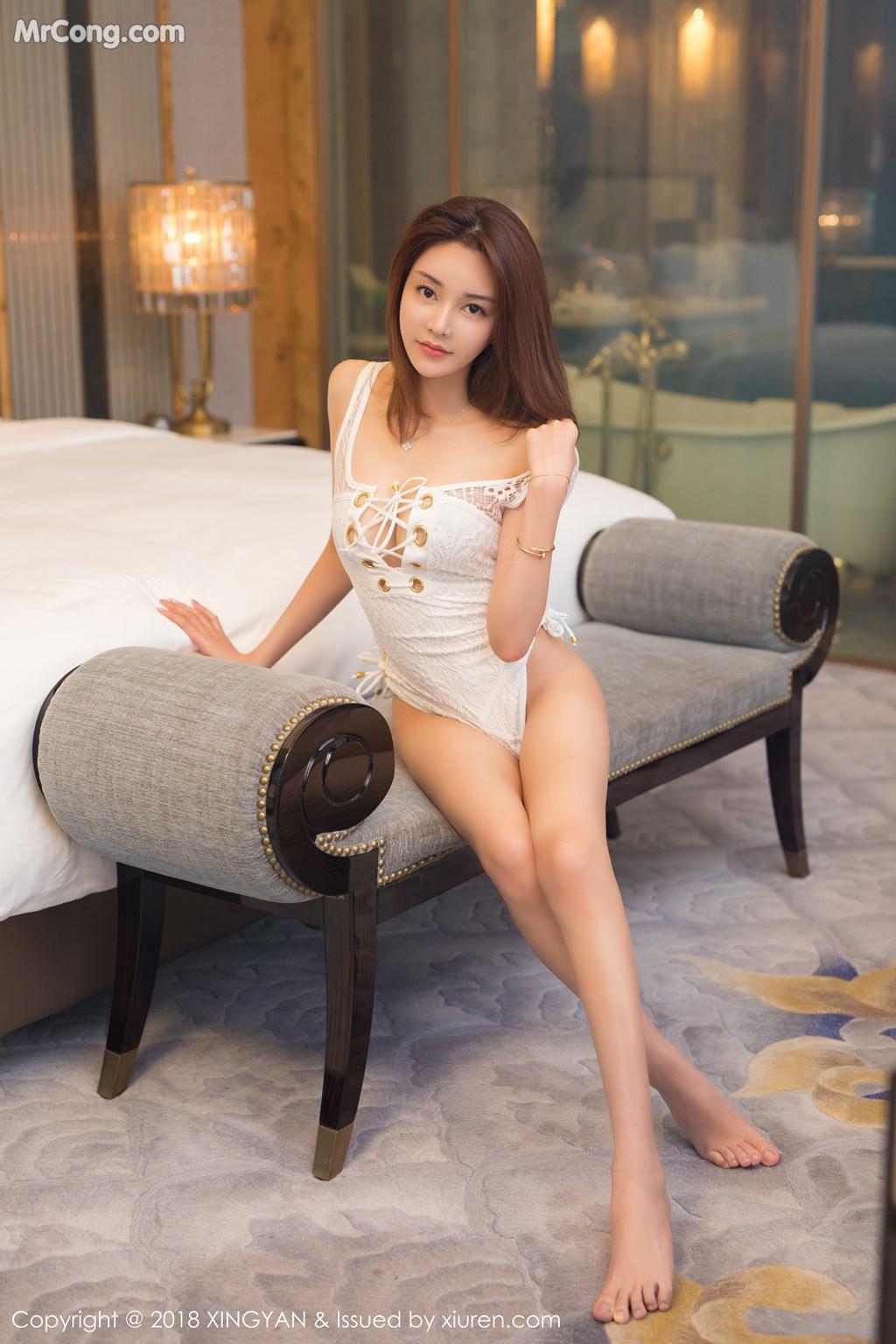 Image XingYan-Vol.099-Selina-MrCong.com-007 in post XingYan Vol.099: Người mẫu Selina思思 (42 ảnh)