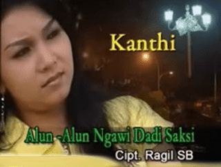 Lirik Lagu Alun Alun Ngawi Dadi Saksi