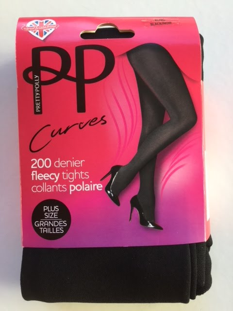 ad85805c156 Women s Clothing Pretty Polly 200 Denier Fleecy Opaque Plus Size Tights  Clothing