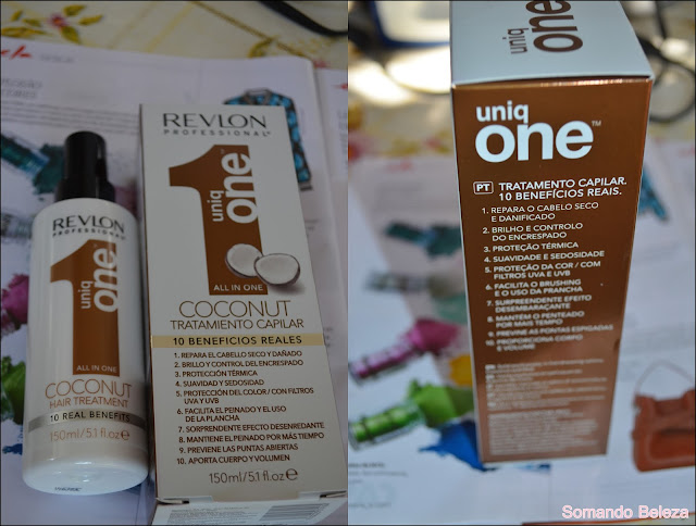 Somando Beleza, Revlon Professional Oniq One Coconut